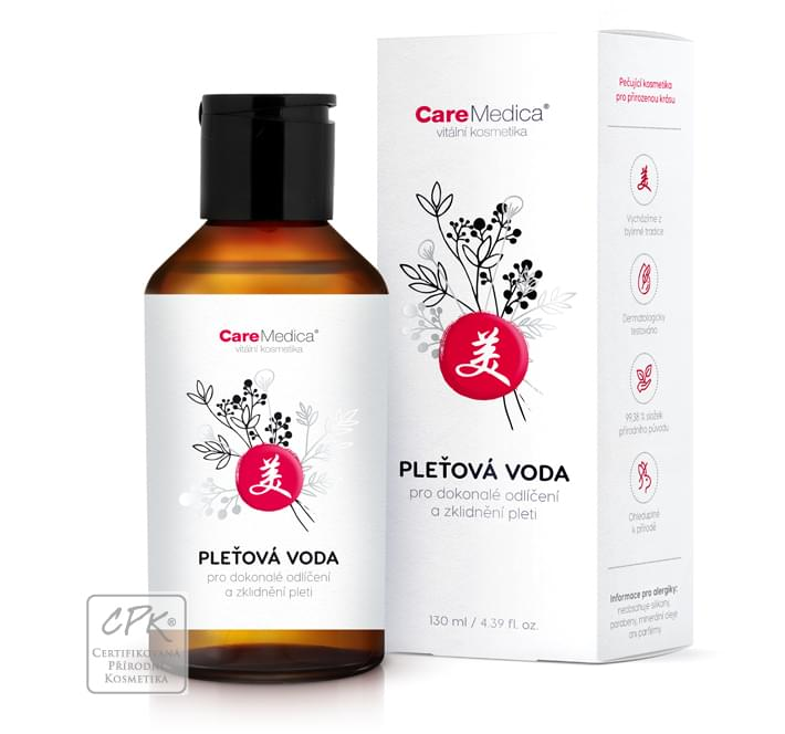 CareMedica pleťová voda 130 ml