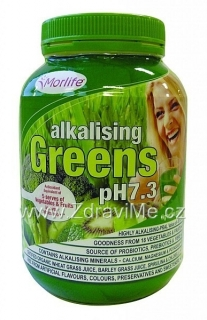 Morlife alkalising Greens (pH7.3) 300g