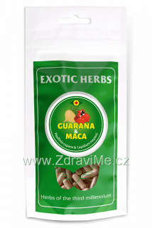 Guarana Plus Mix 50/50 Guarana + Maca kapsle 100 ks