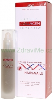 Inventia Hair & Nails na VLASY A NEHTY Triple Helix Formula 200 ml