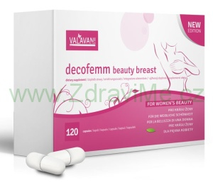Valavani DecoFemm Beauty Breast 120 kapslí